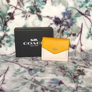 Coach . Color Block wallet.